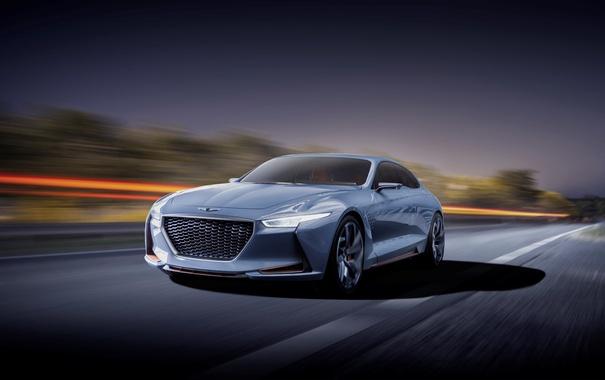 Фото обои Concept, концепт, Hyundai, Genesis, генезис, хундай