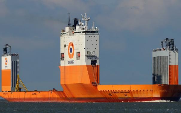 Фото обои для перевозки, Крупнейшее, «Dockwise Vanguard», тяжелых, грузов, судно, в мире