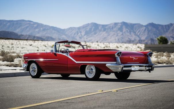Фото обои кабриолет, 1957, Convertible, Oldsmobile, олдсмобиль, Starfire