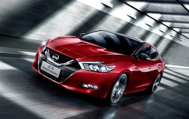 Фото обои Nissan, ниссан, максима, Maxima