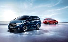 Обои Honda, хонда, минивэн, Odyssey, одиссей
