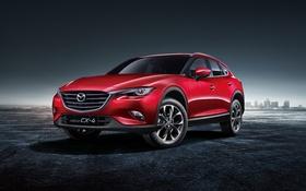 Обои Mazda, мазда, кроссовер, CX-4