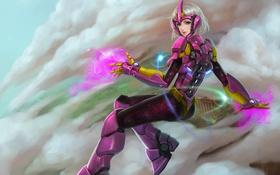 Обои девушка, костюм, hon, Andromeda, Heroes of Newerth, Eos Andromeda