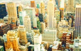 Обои небоскреб, дома, минимализм, Нью-Йорк, США
