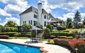 Обои особняк, бассейн, вилла, дом