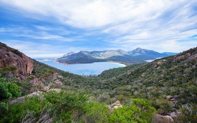 Картинка горы, природа, Австралия, Тасмания, Freycinet National Park