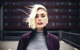 Картинка Melinda, Miro Hofmann, ветер, волосы
