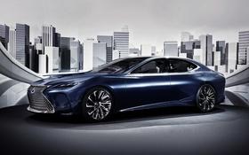 Картинка Lexus, лексус, Concept, LF-FC, концепт