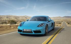 Обои 718, кайман, порше, Cayman, Porsche