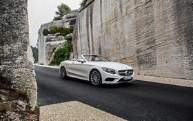 Обои Mercedes-Benz, кабриолет, мерседес, AMG, Cabriolet, S-Class, A217