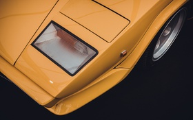 Обои стиль, Lamborghini, классика, Countach, Series III, LP400 S