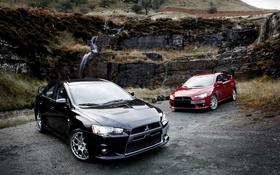 Обои Mitsubishi, Lancer, Evolution, лансер, мицубиси