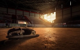 Обои спорт, арена, Покинутые места