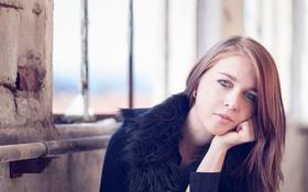 Картинка взгляд, девушка, портрет, Aurélie