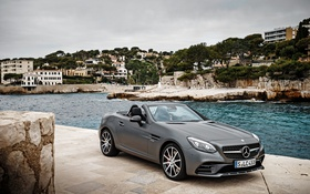 Картинка Mercedes-Benz, кабриолет, мерседес, R172, SLC-Class