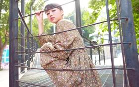 Картинка лето, взгляд, лицо, платье, азиатка