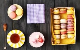 Обои colorful, печенье, десерт, sweet, dessert, cookies, macaron