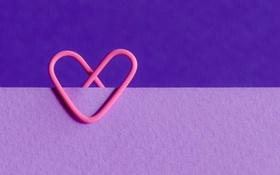 Обои сердце, цвет, форма