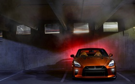 Картинка Nissan, GT-R, ниссан, R35