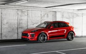 Обои Porsche, порше, Prior-Design, Macan, макан