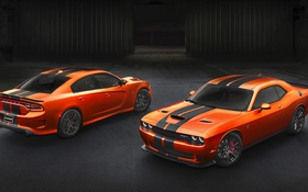 Обои Dodge, Challenger, додж, Hellcat, челленджер, SRT