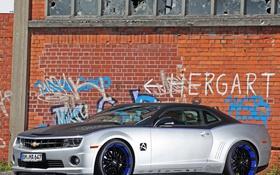 Обои Chevrolet, Camaro, Car, 2012, Show, Audiovox, Magnat