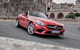 Обои Mercedes-Benz, кабриолет, мерседес, R172, SLC-Class