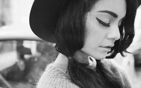 Картинка лицо, модель, шляпа, актриса, красавица, певица, латина
