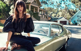 Картинка лето, весна, мода, 2016, Blugirl, Шарлотта Карден, Charlotte Cardin