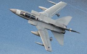 Обои истребитель, полёт, бомбардировщик, Tornado