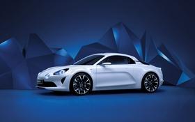 Обои Renault, рено, Concept, Alpine, Vision
