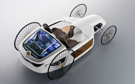 Обои Roadster, concept, F-CELL, Mercedes-Benzs