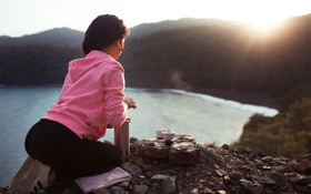 Картинка Tea, Model, Sunset, Turkey, Kemer, Legens