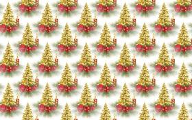Обои фон, праздник, текстура, Новый год, ёлочка