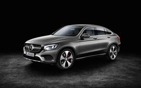 Картинка фон, Mercedes-Benz, мерседес, Coupe, кроссовер, GLC-Class, C253