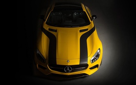 Обои Concept, Mercedes-Benz, AMG, GTS, Marauder, Cigarette, (2015)