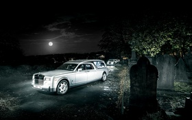 Обои Rolls-Royce, Phantom, кладбище, фантом, роллс-ройс, Biemme, B12