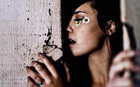 Обои Brittany Wilkins, портрет, девушка, взгляд