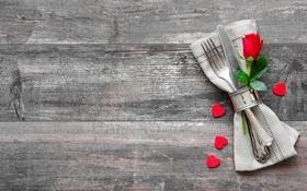 Картинка любовь, сердце, love, rose, heart, wood, romantic