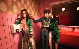 Обои Spring, Summer, Campaign, Gucci, 2016, Glen Luchford