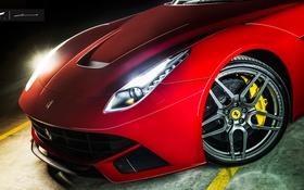 Обои Ferrari, суперкар, феррари, Berlinetta, F12, Kahn Design, верлинетта
