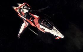 Обои космос, звезды, полет, корабль, Star Citizen, Origin