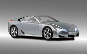 Обои купе, вектор, Lexus, concept, LFA