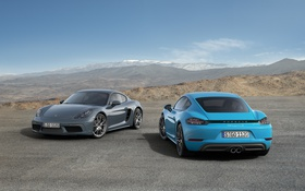 Обои Porsche, Cayman, порше, кайман, 718