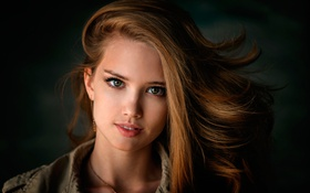 Картинка портрет, Лиза, Dennis Drozhzhin