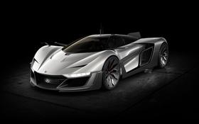 Обои Concept, концепт, суперкар, Aero GT, Bell & Ross