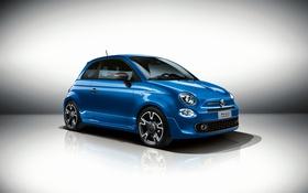 Картинка фон, Fiat, фиат, 500S