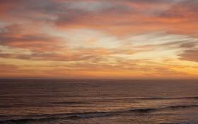 Обои море, волны, небо, горизонт