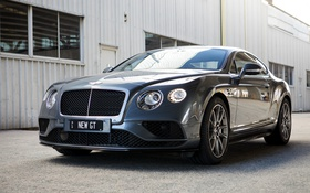 Обои Bentley, Continental, бентли, континенталь