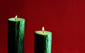 Обои фон, свечи, огурцы
